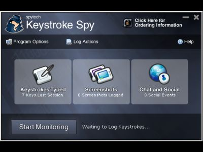 Invisible Computer Keystroke Logging Software